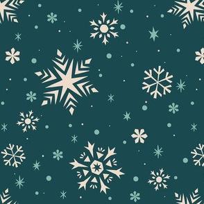 Snowflakes & Flurries (BLUE)