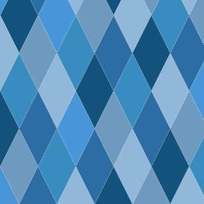 Blue Argyle Diamonds