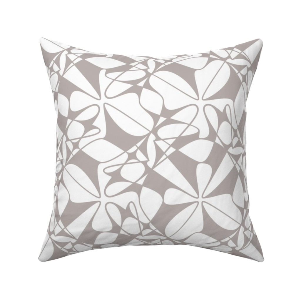 Catalan Throw Pillow featuring Lines and Loops  by zuzana_licko