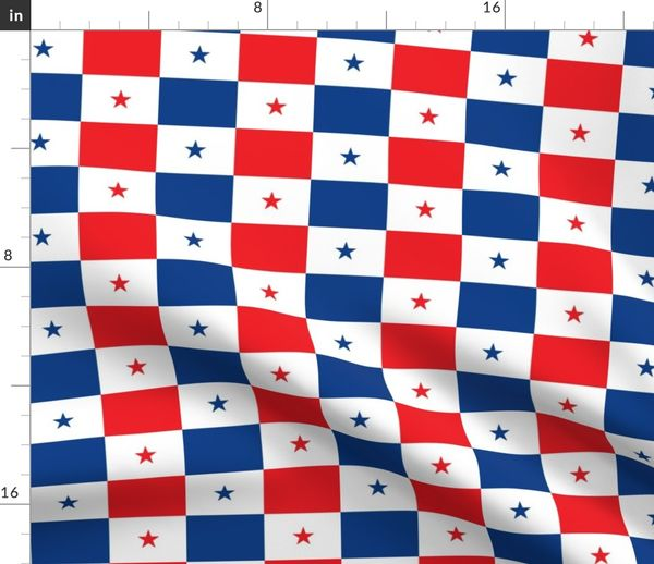 Fabric by the Yard panama flag 3
