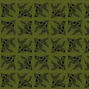 Kowhai 3 green black