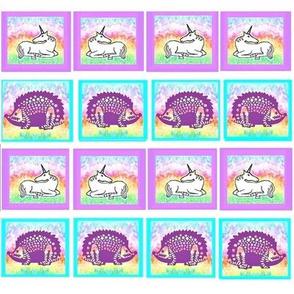 Unicorns and Hedgehogs