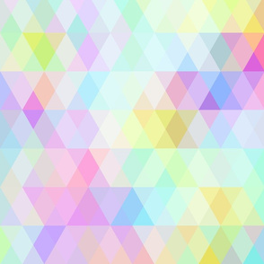 Abstract Geometric rainbow pastel color.