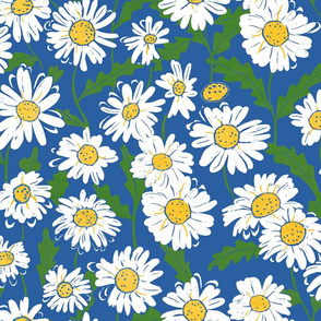 Daisy large scale size