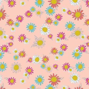 Woodland Floral - Pink