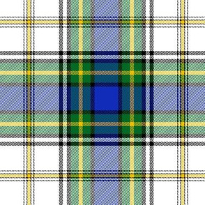 Gordon dress tartan #4, 6""