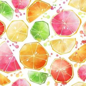 citrus splatter