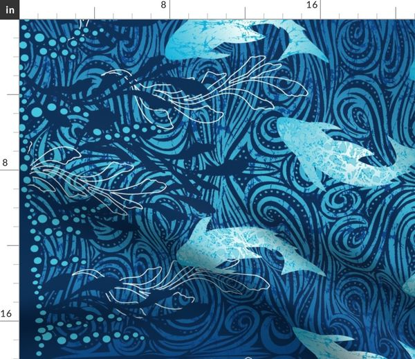 Toucan Bird Pirate Fabric Panel Make A Cushion Upholstery Craft