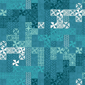 Tapa Tuesday blue
