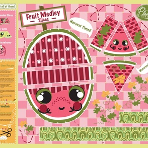 Watermelon Kawaii CUT & SEW DIY