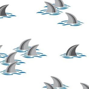 Take Care! Dolphins Never Swim Alone...
