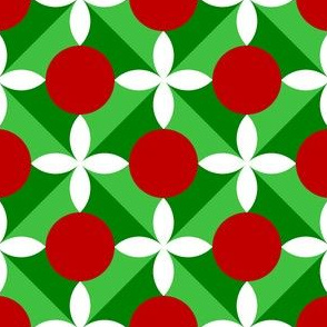 00696669 : holly leaf, flower + berry 4x
