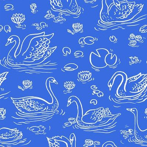 BLUE SWAN LAKE