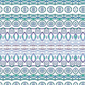 Klimt- Blue Freize