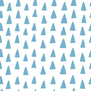 Triangle Forest - Light Blue/White