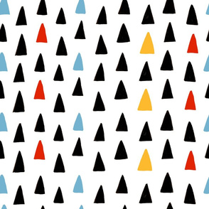 Triangle Forest - Blue/Red/Black/Yellow
