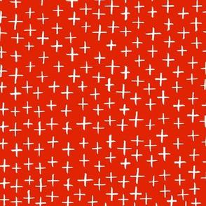 Cross Stitch - Red