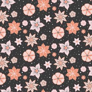 Night Flowers coordinate pattern