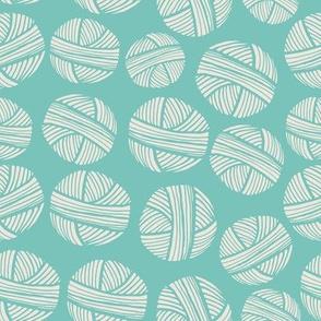 Yarn Balls Aqua