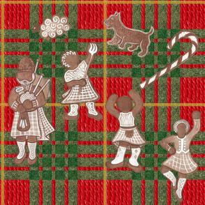 Gingerbread Scotsmen