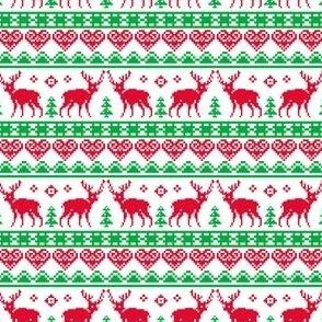 Nordic Christmas Tacky Reindeer
