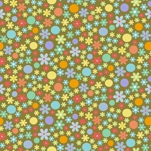 hearts on white fabric