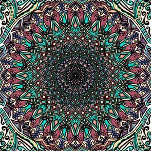 Mandala Project 453 | Colorful Boho Mandala