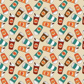 Pumpkin Spice Latte Pattern 1