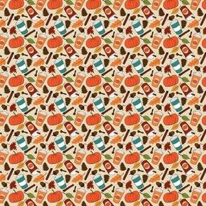 Pumpkin Spice Latte Pattern 2