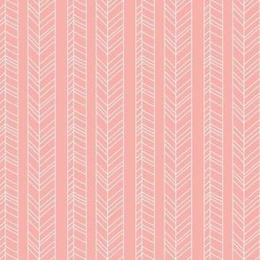 Fallen Stripes Dusty Pink
