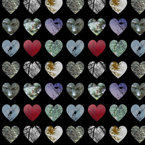 9 hearts gothic themes