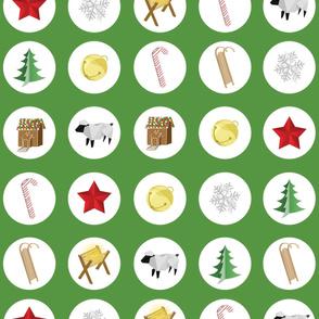 Mod Christmas Ornaments