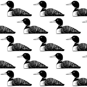 Loon: Black and White