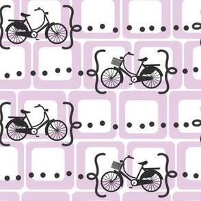 Ride a bike V2 in lilac