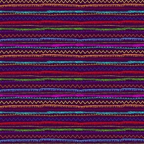 Andean Stripes Purple