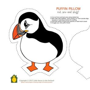 Puffin Pillow Kit
