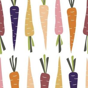 Spring Carrots Orange