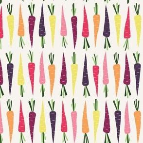 Spring Carrots Green