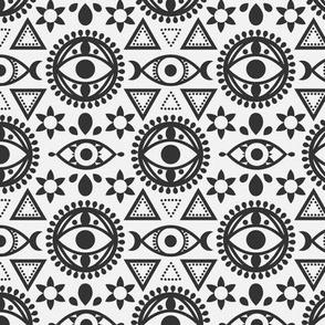 Geometric Evil Eye