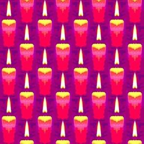 Pretty Menorah Candles
