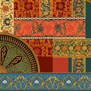 Ballets Russes Tapestry, Sans Bakst