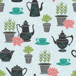 Tea with Plants
