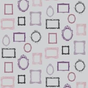 Frames Purple Gray Black