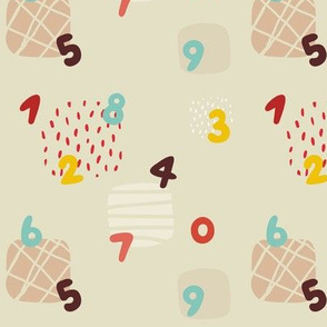 Numbers and squares
