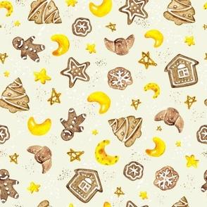 Sweet gingerbread dreams