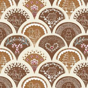 Gingerbread Tiles