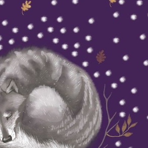Sleeping Wolf /Purple