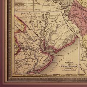 South Carolina map, large