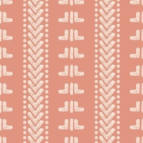 Pink African Mudcloth