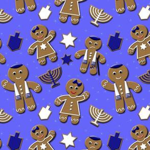 Hanukkah Gingerbread